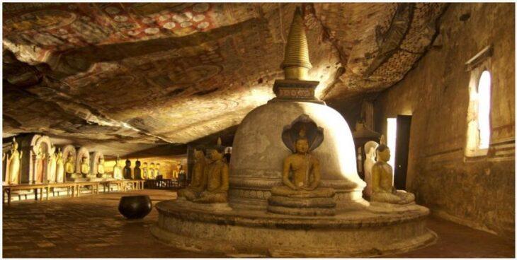 Buddhist Cave Temple, Sri Lanka