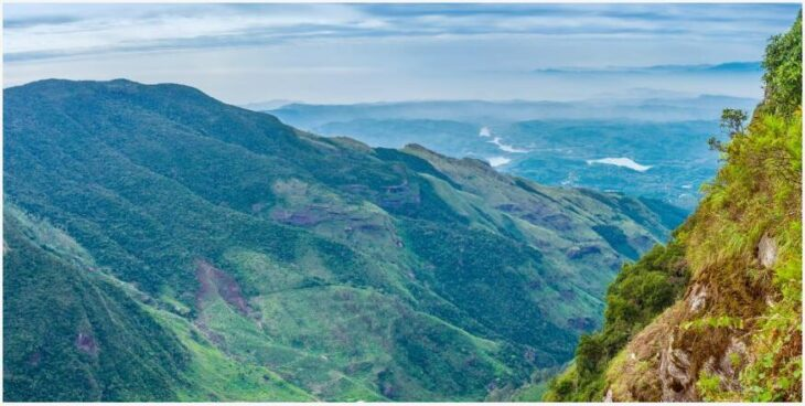 Horton Plains - a view of the ends of the earth