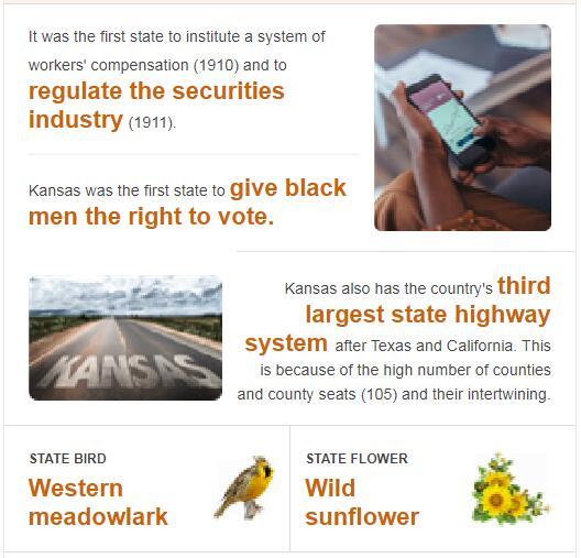 Kansas State Bird and Flower