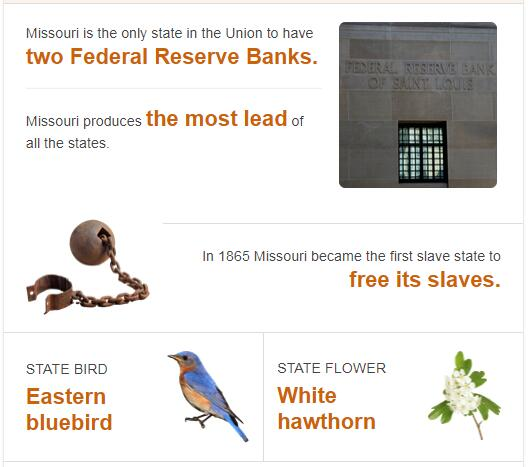 Missouri State Bird and Flower