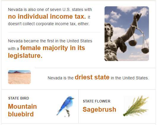 Nevada State Bird and Flower