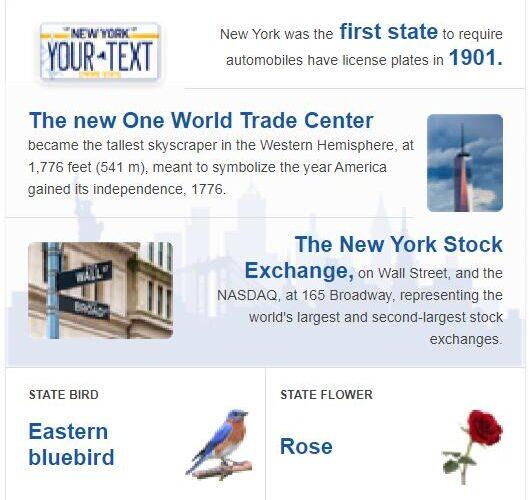 New York State Bird and Flower