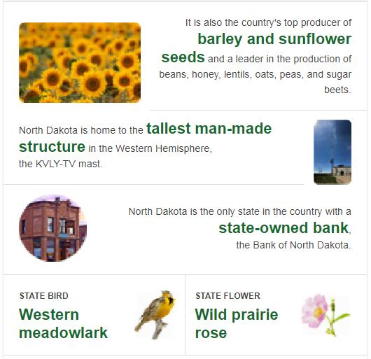 North Dakota State Bird and Flower