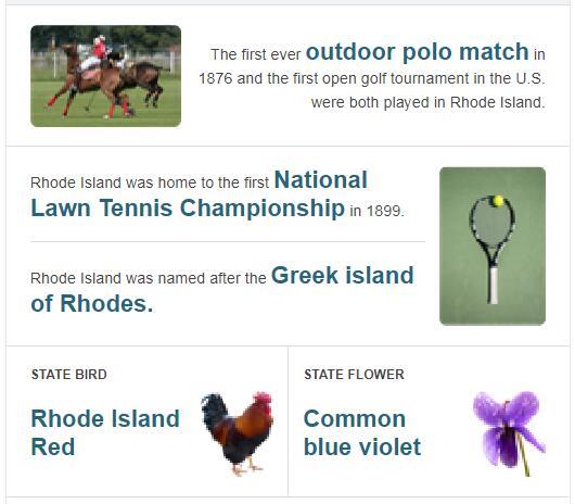 Rhode Island State Bird and Flower
