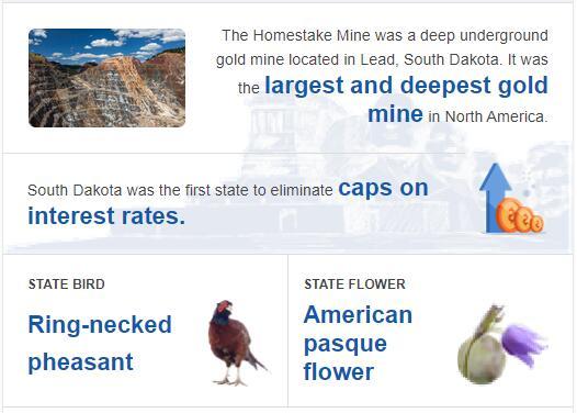 South Dakota State Bird and Flower