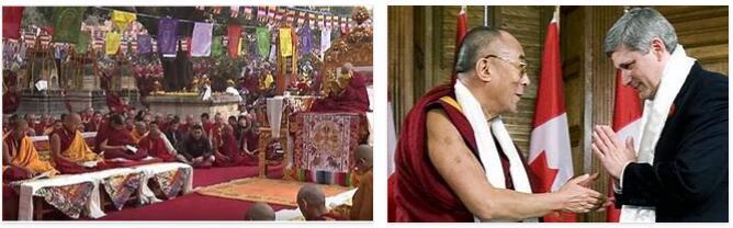 The Dalai Lama Institution under Gelugpa